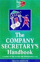 Company Secretarys Handbook a Guide To the Duties