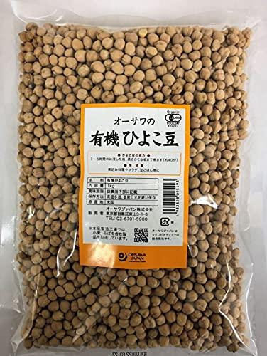 オーサワジャパン オーサワのひよこ豆 1kg 4個セット