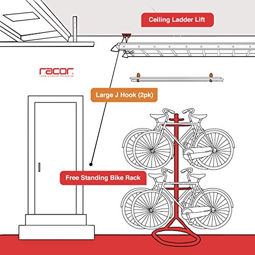 Racor - LDL-1B, Ceiling Ladder Storage Lift