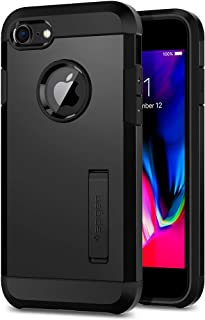 Spigen Tough Armor [2nd Generation] Designed for Apple iPhone 8 Case (2017) / Designed for iPhone 7 Case (2016) - Black