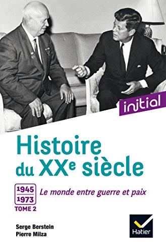 Initial - Histoire du XXe siècle