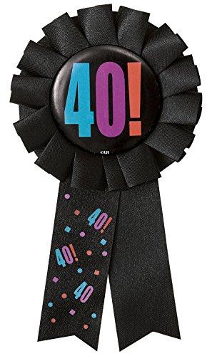 Unique Party- Coccarda Quarantesimo Compleanno, 45883
