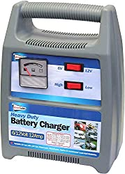 RELIABLE BATTERY CHARGE: This is a 6/12V 12 amp automatic battery charger that offers a convenient and reliable battery charging solution, keeping the users equipped for emergency situations. The Streetwize Battery Charger is designed to supply power...