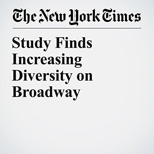 Study Finds Increasing Diversity on Broadway copertina