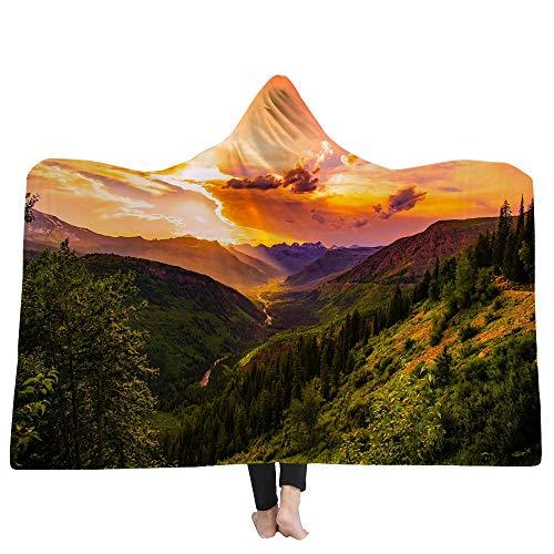 SKLLA Die Decke der Decke der Kinderdecke Doppel-Plüsch 3D Ocean Pattern,3,150cm*200cm
