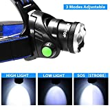 Immagine 2 kingtop torcia frontale 2000 lumens