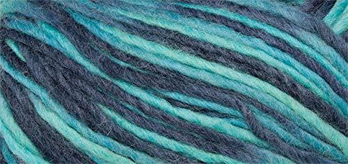 50 gr. Filzwolle für die Waschmaschine, Fb. 116, türkis/blau  Neu