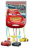 ALMACENESADAN 0823, Piñata Basic Disney Cars, Multicolor, para Fiestas y cumpleaños. 28x33 cms.
