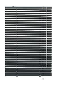 Deco Company - Persiana de Aluminio con Pinzas (65 x 130 cm), Color Gris
