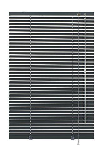 Deco Company Aluminium-Jalousie zum Klemmen, Schiefer, 110 x 175 cm