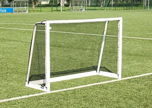 buffalo. NL Champ Cup Porta da Calcio, 185x 125x 60cm, Bianco, M