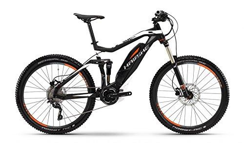 Haibike, bicicletta elettrica Sduro AllMtn SL 27,5pollici, antracite/bianco/rosso opaco, Unisex, 48