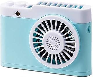 Zongha Ventilador Peque?o Ventilador De Mano Recargable Ventilador de Mano Cara de Ventilador de Mano Portátil Ventilador de Mano Batería Ventilador de Mano Blue