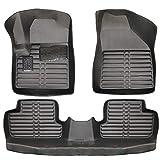 Allwetter TPE Fussmatten Set passend Jeep Cherokee (KL) Bj.ab 2013 Fußmatte KFZ Automatten 100% Passgenau Langlebig Wasserabweisend Schmutzabweisend