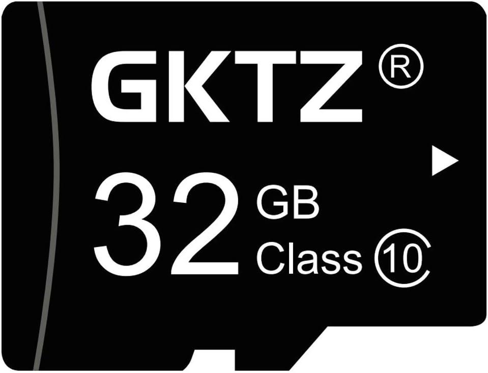 GKTZ Micro 32GB Memory Card Class 10 Storage Card for Kids Camera,Digital Cameras,Action Cameras,Cellphone and Tablets
