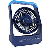 OPOLAR NEW 20000mAh Rechargeable Battery Operated Desk Fan, Camping Fan for...