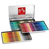 Caran d 'Ache SUPRACOLOR Weiche Stifte, verschiedene Farben (Dose mit 120Stück)