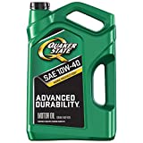 Quaker State Advanced Durability Conventional 10W-40 Motor Oil (5-Quart, Single Pack)