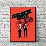 EPSMK Pintura Decorativa Twenty One Pilots Roadshow Emocional HD Art Canvas Poster Painting Wall Picture Print Modern Home Dormitorio Decoración Accesorios-70x100cm