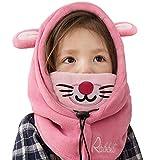 Tyidalin - Pasamontañas para niños de invierno Rosa B. 1-3 años