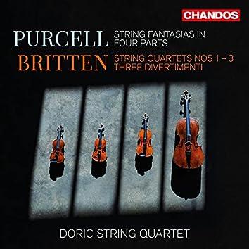 Purcell & Britten: String Fantasias & String Quartets