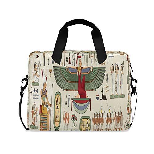 HMZXZ Funda para portátil con diseño tribal de Egipto anti