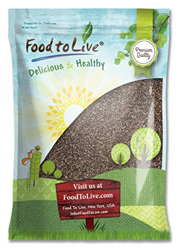 Chia Seeds, 15 Pounds - Kosher