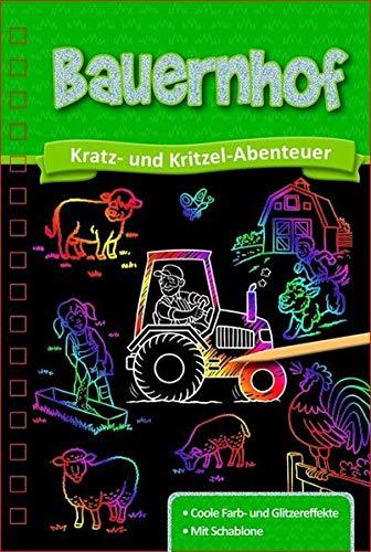 Kratzbuch: Bauernhof: Kratz- und Kritzel- Abenteuer