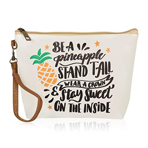 Multifunction Cute Print Travel Cosmetic Pouch Bag - Bridesmaid Gift Makeup Organizer Toiletry Wristlet