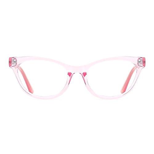 20138886ac413 TIJN Optical Eyewear Cat Eye Eyeglasses Frame with Non-Prescription Lens  for Women