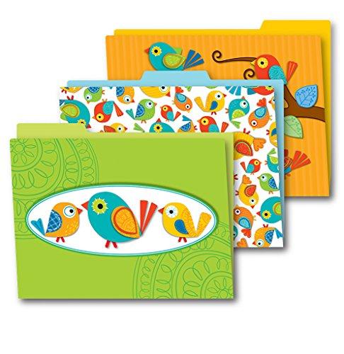Carson Dellosa Boho Birds File Folders (136007)