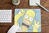 Alfombrilla de Raton de Ordenador Homer Simpsons Espejo
