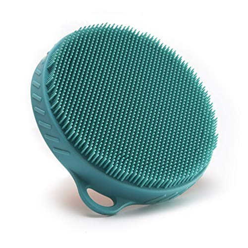 Silicone Body Cleansing Scrubber Shower Brush,...