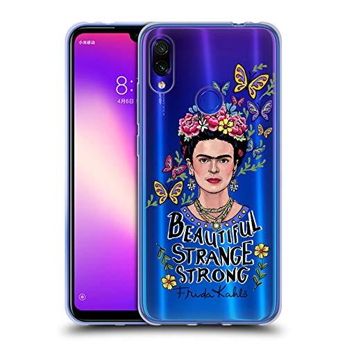 Head Case Designs Licenciado Oficialmente Frida Kahlo Mujer Hermosa Arte y Cotizaciones Carcasa de Gel de Silicona Compatible con Xiaomi Redmi Note 7/7 Pro
