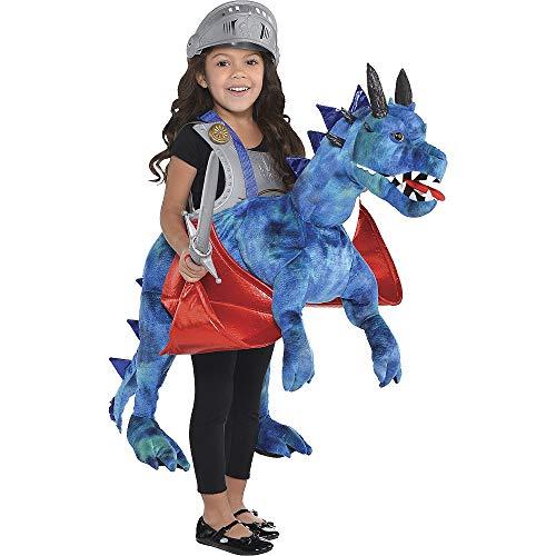 Travis Designs–Kinder-Kostüm Drache, Einheitsgröße (RDR)