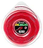 Arnold Recortadora de hilo AF 3,11, 2,4 mm x 70,1 m, redondo, girar, rojo, 1082-U5-2470