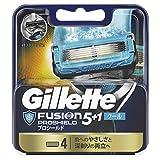 ジレット 髭剃り フュージョン5+1 プロシールド クール 替刃 4個入