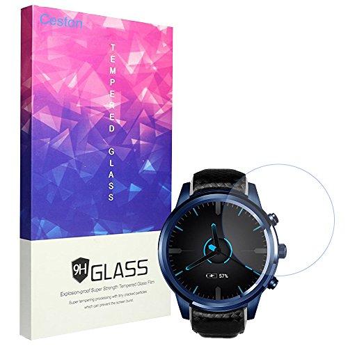 Ceston 9H Protector De Pantalla De Cristal Templado Para Smartwatch LEMFO LEM5 Pro (3 Pack)