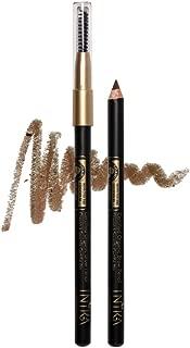 INIKA Certified Organic Brow Pencil, All Natural Make Up Eyebrow Liner, Vegan, Halal, Cruelty Free 1.2 g (Brunette Beauty)