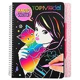 Depesche 10795 Magic Scratch TopModel Kitty - Libro para Colorear (18,5 x 22 x 2 cm), Multicolor