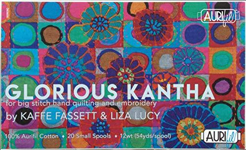 Aurifil Thread Thrd Coll GloriousKantha-Faset
