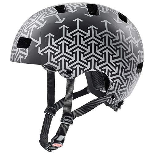 Uvex Unisex Jugend, kid 3 cc Fahrradhelm, black, 51-55 cm