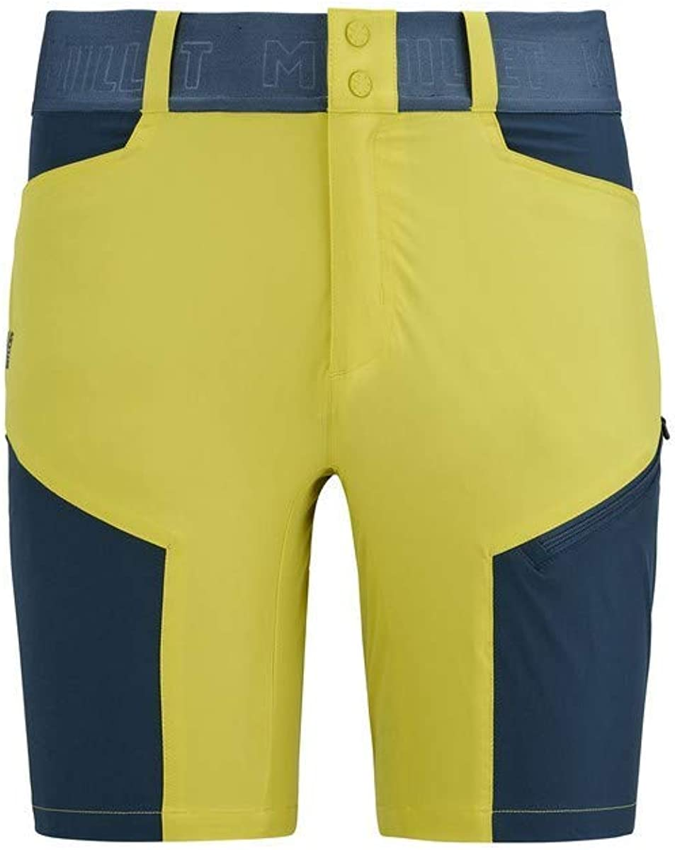Millet ONEGA Shorts, Wild Lime/Orion Blue, L Mens: Amazon.es ...