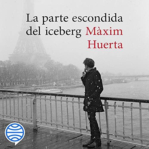 Diseño de la portada del título La parte escondida del iceberg