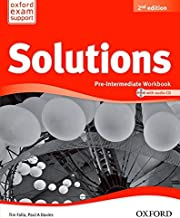 Solutions 2nd edition Pre-Intermediate. Workbook CD Pack