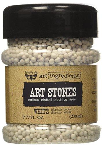 Prima Marketing 963705 Finnabair Art Ingredients Stones, 7.77 fl. oz, White