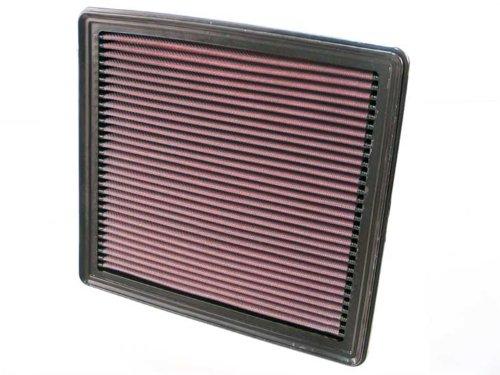K&N 33-2298 Motorluftfilter: Hochleistung, Prämie, Abwaschbar, Ersatzfilter, Erhöhte Leistung, 2005-2010, Mustang GT