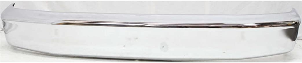 Bumper compatible with Ford Bronco 92-96/F-Series 92-97 Front Bumper Chrome