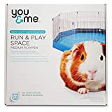PETCO Brand - You & Me Run & Play Space Small Animal Playpen, Medium, Blue