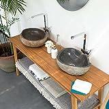 Aufsatzwaschbecken Granit 40 cm - 2